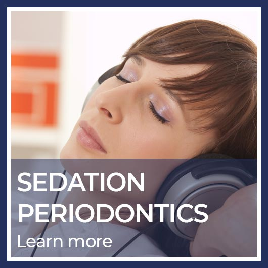 button for sedation periodontics